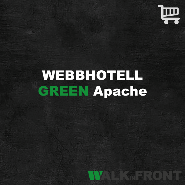 Webbhotell Green Apache